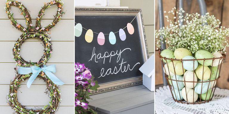 Decoraţiuni simple şi de efect pentru Paşti! Dă-ţi frâu liber imaginaţiei şi adu primăvara în casă FOTO