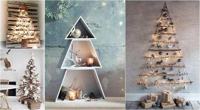 5 alternative nenconvenţionale şi ieftine la Bradul de Crăciun! Sărbători Fericite!