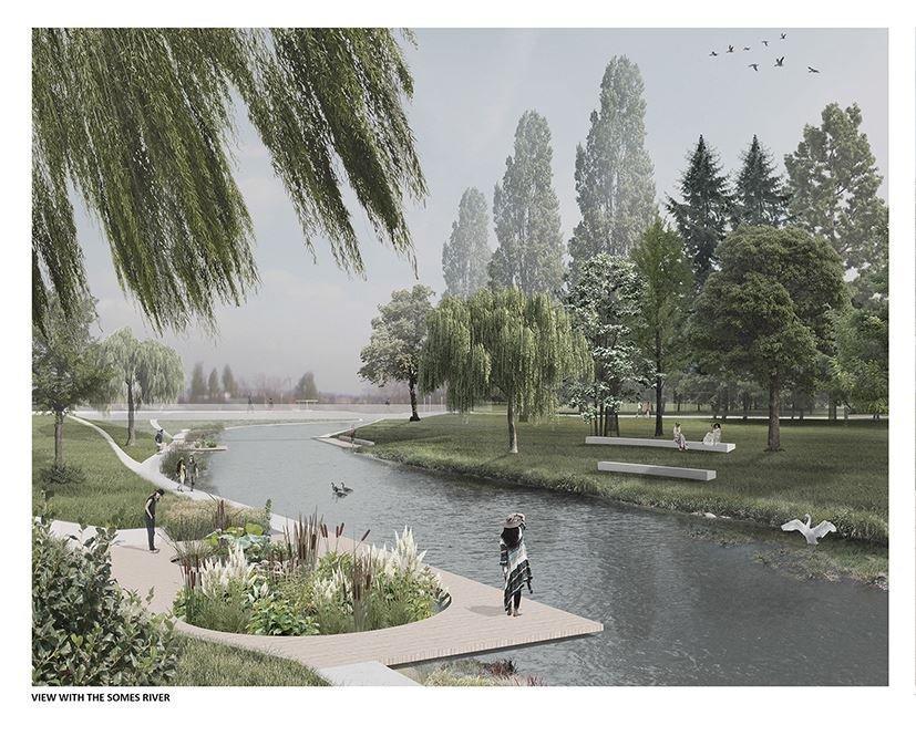Clujul va avea 4 parcuri noi, unul de 21 de hectare. Cât costă să îţi iei apartament în zonă