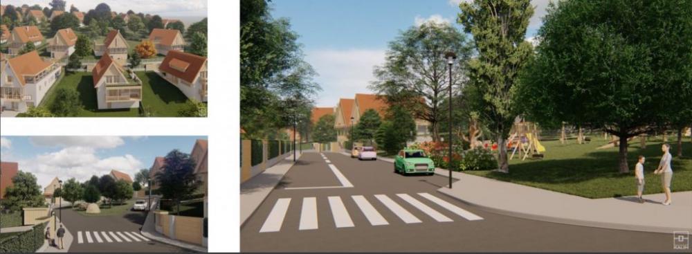 Cartierul modern de la țară. Proiect inedit lansat într-un sat din Cluj VIDEO