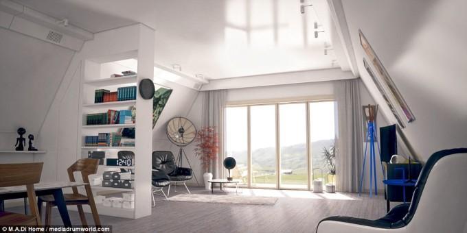 Cum arată casa ce costă doar 28.000 de euro şi poate fi construită în 6 ore VIDEO