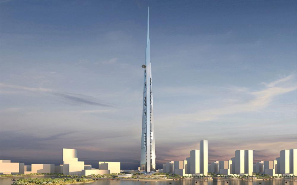 Cele mai înalte clădiri din lume în 2018. Două au peste 1 km înălţime FOTO