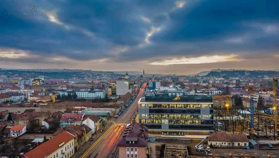 Şantierul imobiliar Nord-Vest a luat avânt în mai 2017. VEZI preţurile apartamentelor de vânzare în Cluj