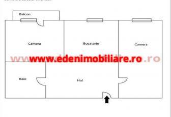 Apartament 2 camere de vanzare in Cluj, zona Centru, 150000 eur