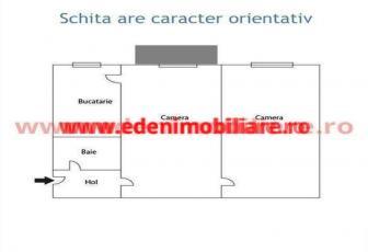 Apartament 2 camere de vanzare in Cluj, zona Gheorgheni, 48000 eur