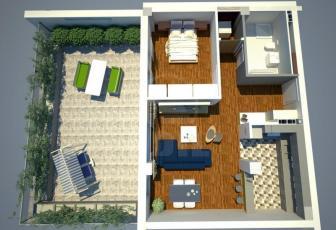 De Vanzare apartament 2 camere  in constructie noua, 66 mp, decomandat, etaj parter/3 in Dambu Rotund, Dambu Rotund