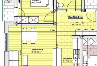 Apartamente 2 camere zona Tautiului - Florești