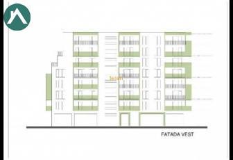 Teren cu proiect autorizat de apartamente