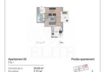 Vanzare Apartament 1 Camera In GHEORGHENI Zona Iulius Mall