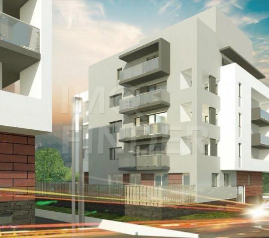Vanzare apartament 4  camere Buna Ziua, imobil nou, gradina 35 mp