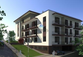 Apartament 2 camere cu terasa panoramica de 64 mp de vanzare in Borhanci