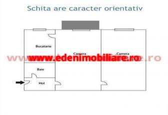 Apartament 2 camere de vanzare in Cluj, zona Gara, 62000 eur
