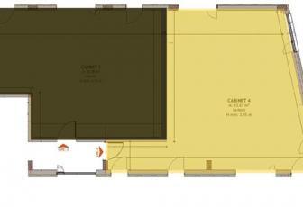 Spatii pentru Cabinete medicale, 43-64 mp, Zorilor