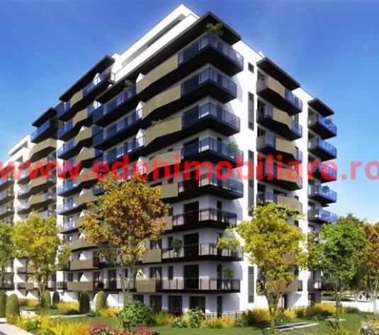 Apartament 1 camera de vanzare in Cluj, zona Gheorgheni, 56100 eur