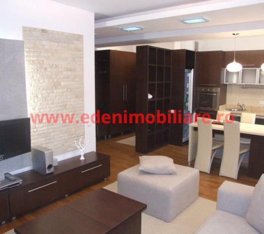 Apartament 2 camere de inchiriat in Cluj, zona Centru, 600 eur