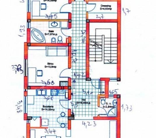 Apartament 4 camere, 135 mp , de vânzare - Andrei Muresanu, Cluj-Napoca
