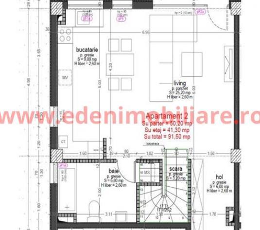 Apartament 4 camere de vanzare in Cluj, zona Buna-Ziua, 131079 eur