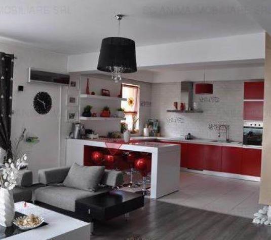 Apartament cu 4 camere, 150 mp, finisat si mobilat Modern