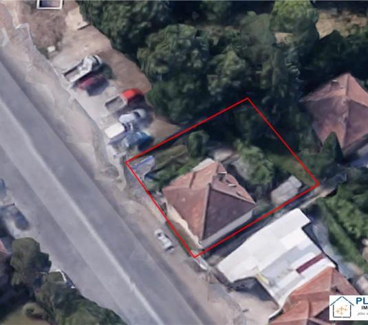 Casa demolabila cu teren 400 mp, front 16+25 ml, artera circulata