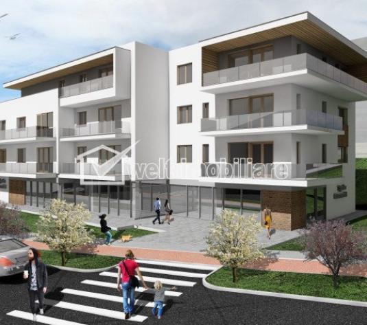 Vanzare apartamente 2 camere in constructie noua, Cluj, zona Borhanci