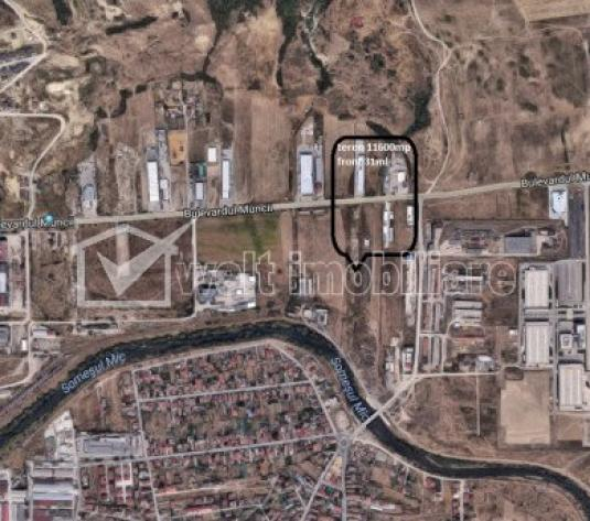 Teren industrial, front la Bdul Muncii, zona Emerson