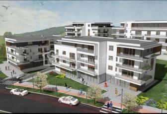 Apartament 3 camere, bloc tip vila, terasa de 28 mp, la 3 minute de Gheorgheni
