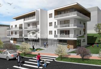 Vanzare apartament 3 camere, Borhanci, terasa 46 mp, acces facil spre Gheorgheni