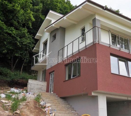 Vanzare locuinta tip duplex, 120 mp+45 mp, garaj, zona Sub Cetate, Floresti