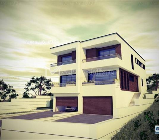 Vanzare casa cuplata 120 mp, cu 30 garaj, zona Narciselor