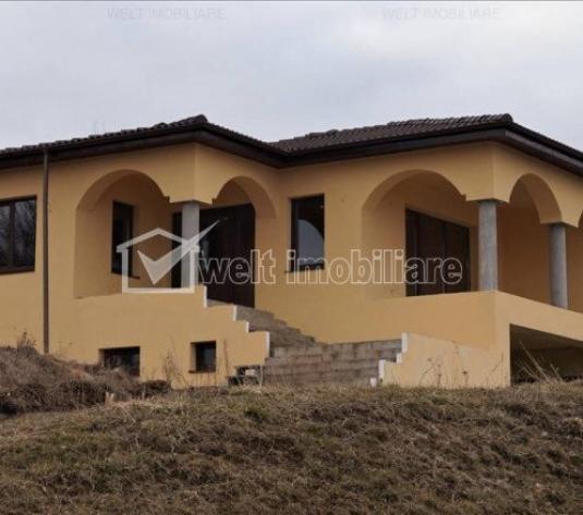 Vanzare casa deosebita, 250mp, cu o panorama superba, in Floresti, zona Fagului