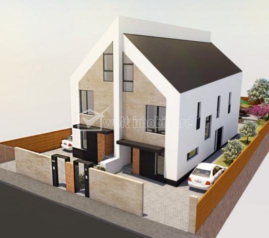 Casa tip duplex, Manastur, la liziera padurii, 170mp, teren 270, panorama