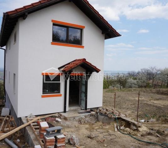 Vanzare casa semifinisata, in sat Gheorgheni, la 15 minute de Cipariu