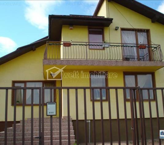 Casa de vanzare cu 1200 mp teren situata in Gilau, la 12 km de Cluj- Napoca