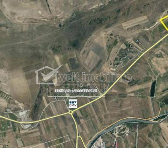Vanzare teren intravilan 10.000 mp, Centura Apahida-Valcele, Apahida, Cluj