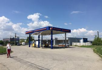 Benzinarie - Statie Peco de vanzare intrare iesire Cluj Apahida DN1C