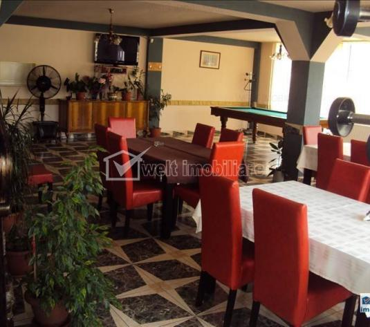 Vanzare restaurant-pensiune, zona cu vad bun, Floresti