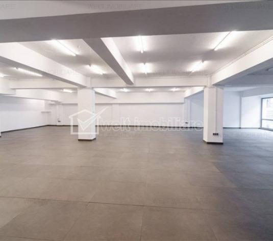 Spatiu de inchiriat la parter, 300 mp, open space, ultrainisat, 6 parcari