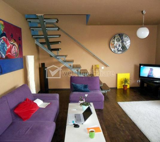 Apartament 3 camere ultrafinisat, mobilat, Gheorgheni, zona linistita