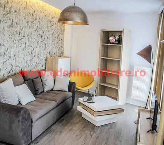 Apartament 2 camere de inchiriat in Cluj, zona Calea Turzii, 750 eur