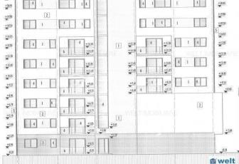 Apartamente cu o camera, cu terasa de 19 mp, decomandate, zona Intre Lacuri
