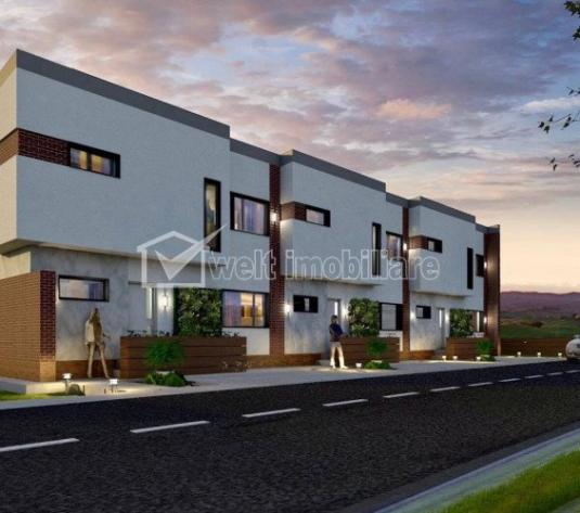 Vanzare casa in triplex, 120mp, Floresti, zona Tineretului