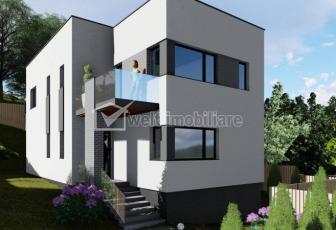 Vanzare casa individuala 4 camere, 123mp, Floresti, zona Crizantemelor