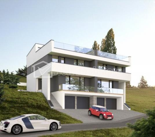 Duplex de vanzare cu terasa panoramica, Feleacu, Cluj