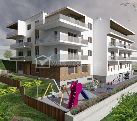 Apartamente de lux cu 3 camere, terasa 19 mp, parc privat, zona Borhanci