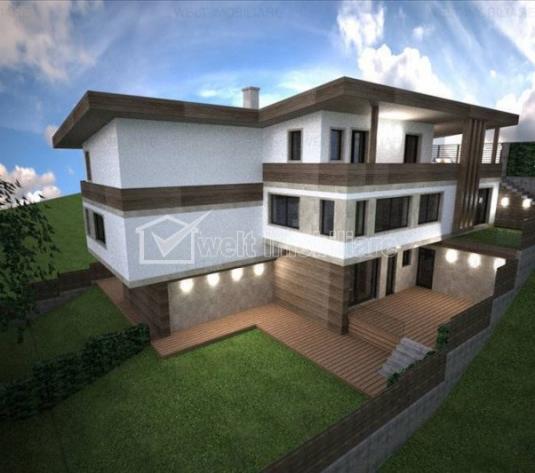 Casa noua de vanzare in Gheorgheni, proiect deosebit, panorama, teren 400 mp