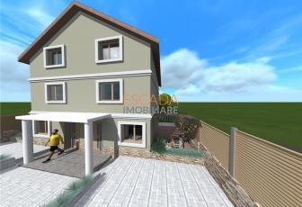 Vanzare casa individuala, 110 mp utili, 185 mp teren, zona Sannicoara!