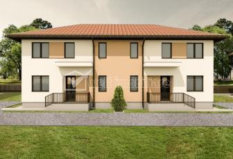 Casa duplex, 4 camere, 105mp utili, 150mp teren, comuna Gilau!