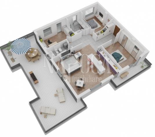 Apartament 4  camere de vanzare in Intre Lacuri, Cluj Napoca