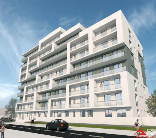 Apartament 2 camere, Semicentral, 56 mp, terasa 11 mp, semifinisat