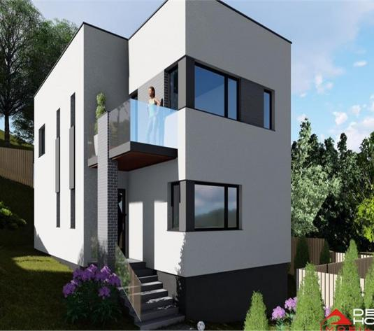 Casa individuala, Floresti, 122 mp util, teren 600 mp, strada privata